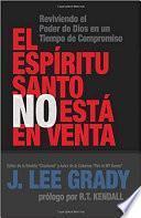 El Espiritu Santo No Esta En Venta / The Holy Spirit Is Not For Sale