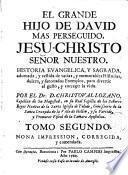 El Grande hijo de David mas perseguido, Jesu-Christo Señor Nuestro ...