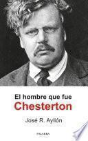 El hombre que fue Chesterton