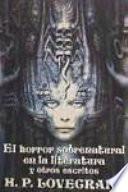 El horror sobrenatural en la literatura