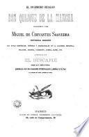 El Ingenioso hidalgo Don Quijote de la Mancha