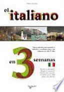 El italiano en 3 semanas