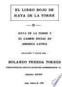El libro rojo de Haya de la Torre