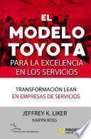 El modelo Toyota para la excelencia en los servicios