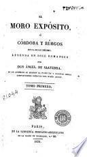 El Moro expósito, ó, Córdoba y Búrgos en el siglo décimo, 1