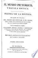 El museo pictórico y escala óptica