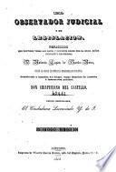 El observador judicial y de legislación