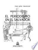 El periodismo en El Salvador