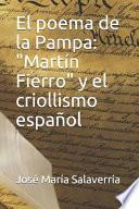 El poema de la Pampa