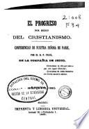 El progreso por medio del cristianismo