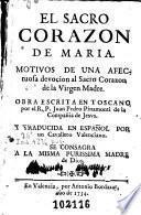 El Sacro Corazon de Maria
