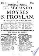 El segundo Moysés S. Froylán