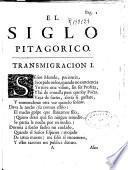 El siglo pitagorico y la vida de don Gregorio Guadaña