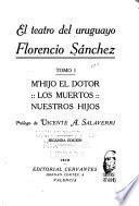 El teatro del uruguayo Florencio Sánchez: M'hijo el dotor. Los muertos. Nuestros hijos