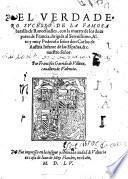 El Verdadero Sucesso De La Famosa batalla de Roncesvalles, con la muerte de los doze pares de Francia