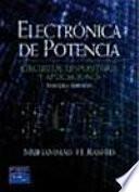 Electrónica de potencia: circuitos, dispositivos y aplicaciones