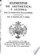 Elementos de aritmética numérica y literal