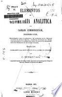 Elementos de geometría analítica