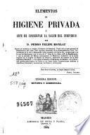 Elementos de higiene privada o Arte de conservar la salud del individuo
