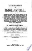 Elementos de historia universal ... Quinta edicion, notablemente aumentada y corregida