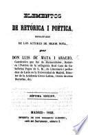 Elementos de retórica i poética estractados de los autores de mejor nota. ... Séptima edicion