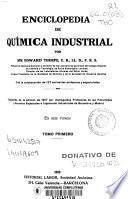 Enciclopedia de química industrial