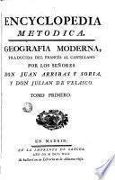 Encyclopedia metodica: geografia moderna, 1