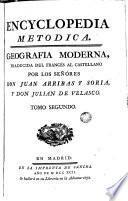 Encyclopedia metodica: geografia moderna, 2