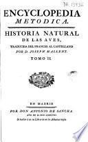 Encyclopedia metódica. Historia natural de las aves