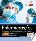 Enfermeras/os. Conselleria de Sanitat Universal i Salut Pública. Generalitat Valenciana. Temario Vol. II. Parte Específica