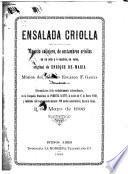 Ensalada criolla