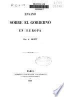 Ensayo sobre el gobierno en Europa