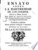 Ensayo sobre la electricidad de los cuerpos