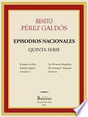 Episodios Nacionales Quinta serie