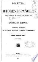 Epistolario español