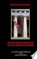 Escritores españoles en los Estados Unidos