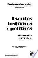 Escritos históricos y políticos: 1893-1911