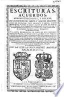 Escrituras, acuerdos, administraciones, y suplicas, de los servicios de veinte y quatro millones, ocho mil soldados ... Impuesto de la Passa, que el Reyno hizo a su Magestad, en las Cortes que se propusieron en 8 de Febrero de 1649 ... con las cedulas nuevamente añadidas hasta fin del año de 1733