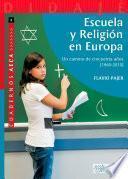 Escuela y Religión en Europa