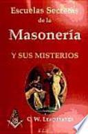 ESCUELAS SECRETAS DE LA MASONERÍA Y SUS MISTERIOS