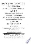 España Goda ; Libro I: Coleccion preliminar de lapidas y medallas del tiempo de los Godos y Arabes