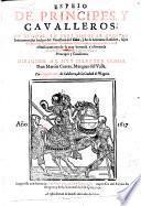 Espejo de principes y cavalleros (etc.)