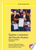 Espíritu y estructura del Derecho Positivo