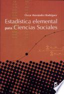 Estadística Elemental Para Ciencias Sociales