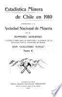 Estadística minera de Chile en 1903