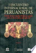Estado de los estudios histórico-sociales sobre el Perú a fines del siglo XX
