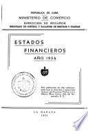 Estados financieros [de las companías de seguros y fianzas].