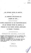 Estados Unidos y el Congreso Anfictiónico de Panamá de 1826 (1826-1966)