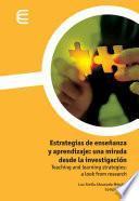 Estrategias de enseñanza y aprendizaje: una mirada desde la investigación