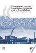 Estrategias de inversión y herramientas financieras para el desarrollo local